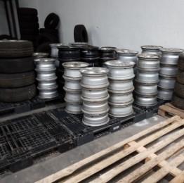 Indsamling af dæk