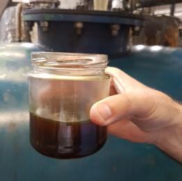 Olie fra dæk